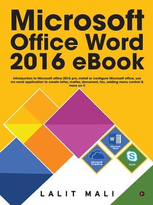 MS OFFICE EBOOK PDF