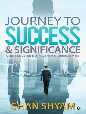 cover image of Journey to Success & Significance