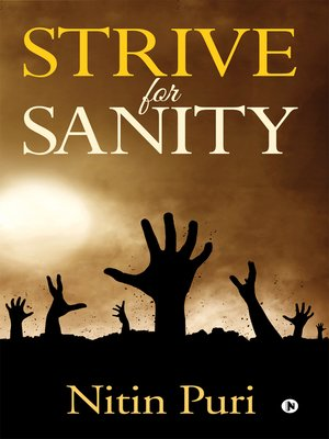 cover image of Strive for Sanity
