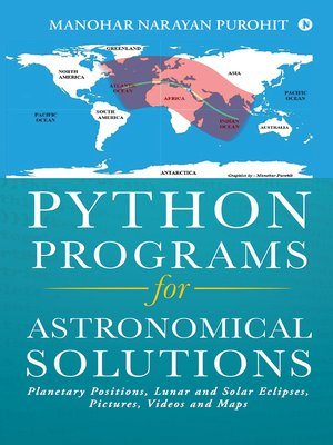 cover image of Python Programs for Astronomical Solutions