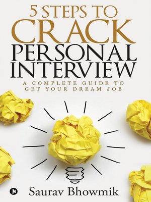 cover image of 5 Steps to crack Personal Interview