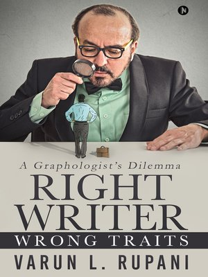 cover image of Right Writer, Wrong Traits