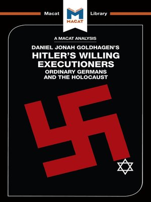 an analysis f ordinary men or willing executioners Spring 2012 faculty: professor barbara kellerman  and should consist of a critical analysis of one or  hitler's willing executioners: ordinary germans and the.