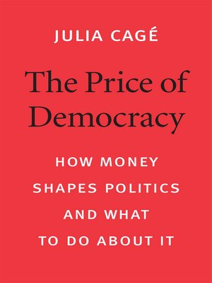 cover image of The Price of Democracy