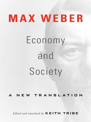 cover image of Economy and Society