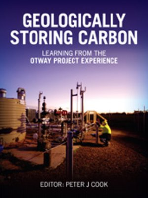 cover image of Geologically Storing Carbon