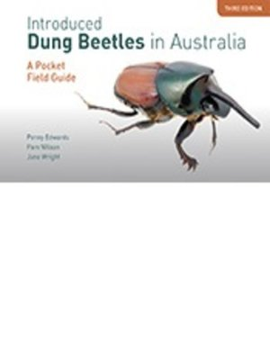 cover image of Introduced Dung Beetles in Australia