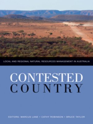 cover image of Contested Country