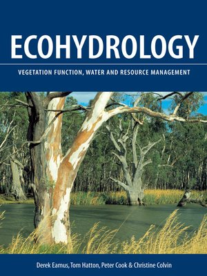 cover image of Ecohydrology