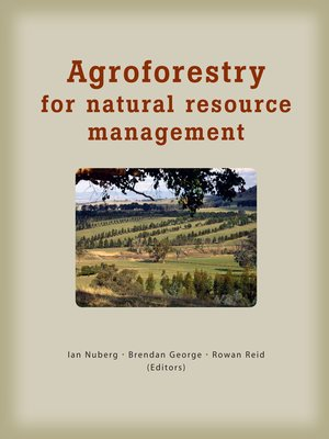 cover image of Agroforestry for Natural Resource Management