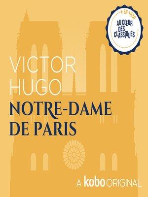 cover image of Notre-Dame de Paris
