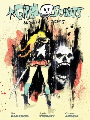 cover image of Grrl Scouts: Magic Socks