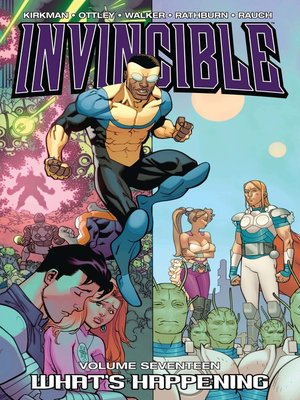 cover image of Invincible (2003), Volume 17