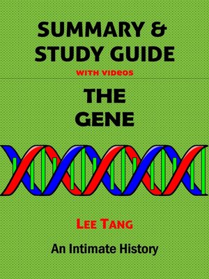 cover image of Summary & Study Guide--The Gene