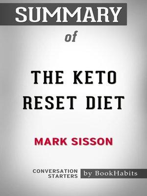 keto reset diet ebook