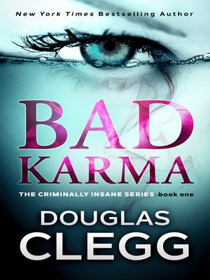 cover image of Bad Karma- a gripping serial killer thriller