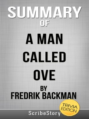 cover image of Summary of a Man Called Ove by Fredrik Backman