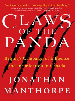 cover image of Claws of the Panda