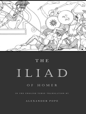 cover image of The Iliad