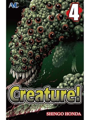 cover image of Creature!, Volume 4