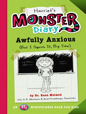 cover image of Harriet's Monster Diary