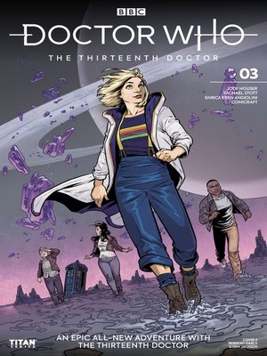 cover image of Doctor Who: The Thirteenth Doctor (2018), Issue 3