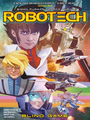 cover image of Robotech (2017), Volume 3