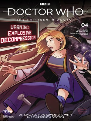 cover image of Doctor Who: The Thirteenth Doctor (2018), Issue 4