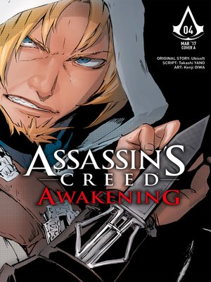 cover image of Assassin's Creed: Awakening (2016), Issue 4