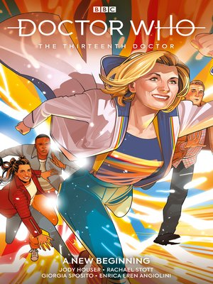 cover image of Doctor Who: The Thirteenth Doctor (2018), Volume 1