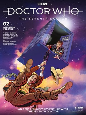 cover image of Doctor Who: The Seventh Doctor: Operation Volcano (2018), Issue 2
