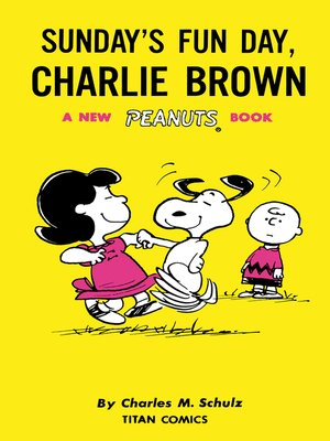 cover image of Sunday's Fun Day, Charlie Brown