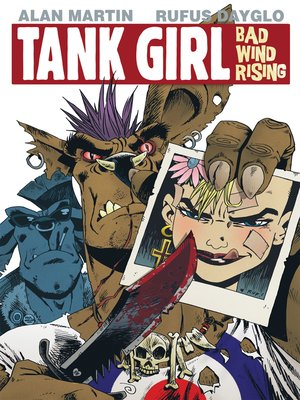 cover image of Tank Girl: Bad Wind Rising (2010), Issue 2