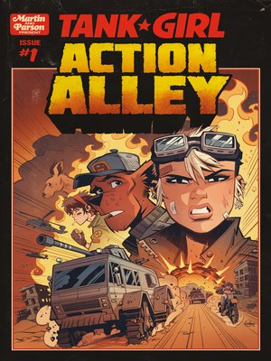cover image of Tank Girl: Action Alley (2018), Issue 1
