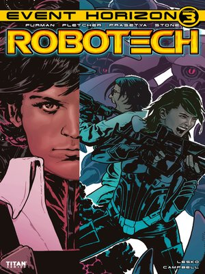 cover image of Robotech (2017), Issue 23