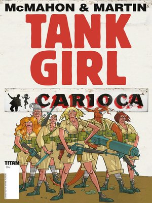 cover image of Tank Girl: Carioca (2012), Issue 4