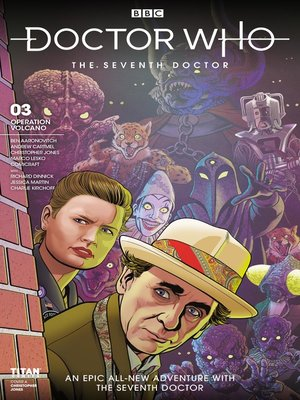 cover image of Doctor Who: The Seventh Doctor: Operation Volcano (2018), Issue 3