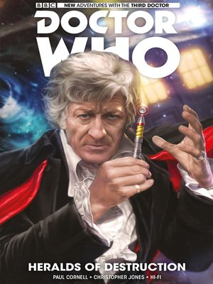 cover image of Doctor Who: The Third Doctor (2016), Volume 1