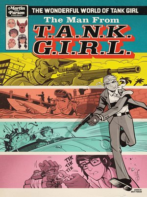 cover image of The Wonderful World of Tank Girl (2017), Issue 3