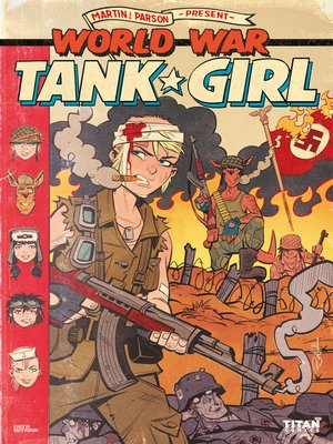 cover image of World War Tank Girl (2017), Issue 2
