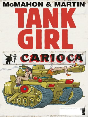 cover image of Tank Girl: Carioca (2012), Issue 2