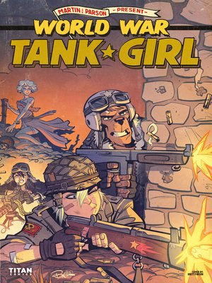 cover image of World War Tank Girl (2017), Issue 3