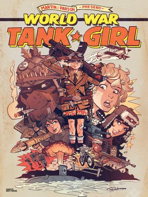 cover image of World War Tank Girl (2017), Issue 4