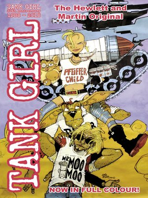 cover image of Tank Girl Classics (2018), Issue 3