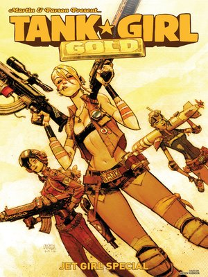 cover image of Tank Girl: Gold (2016), Issue 3