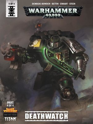 cover image of Warhammer 40,000: Deathwatch (2018), Issue 4