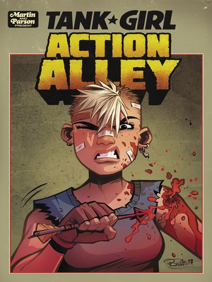 cover image of Tank Girl: Action Alley (2018), Issue 2