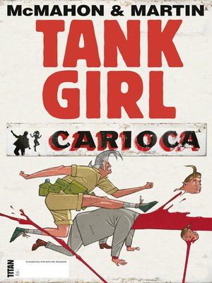 cover image of Tank Girl: Carioca (2012), Issue 6