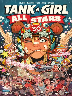 cover image of Tank Girl All Stars (2018), Issue 1