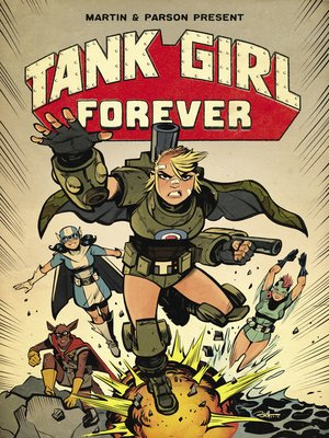 cover image of Tank Girl (2018), Issue 8